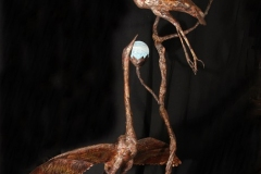 artscapelighting-copper-art-Blue Heron in Light